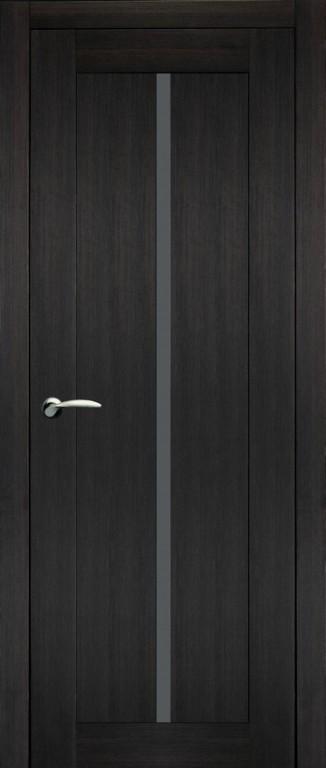 Дверь 8 темный венге