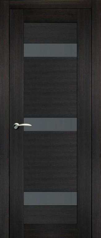 Дверь 1 темный венге