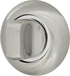 Ручка поворотная wc-bolt матовый никель-хром