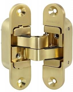 Петля скрытой установки матовое золото 60 кг