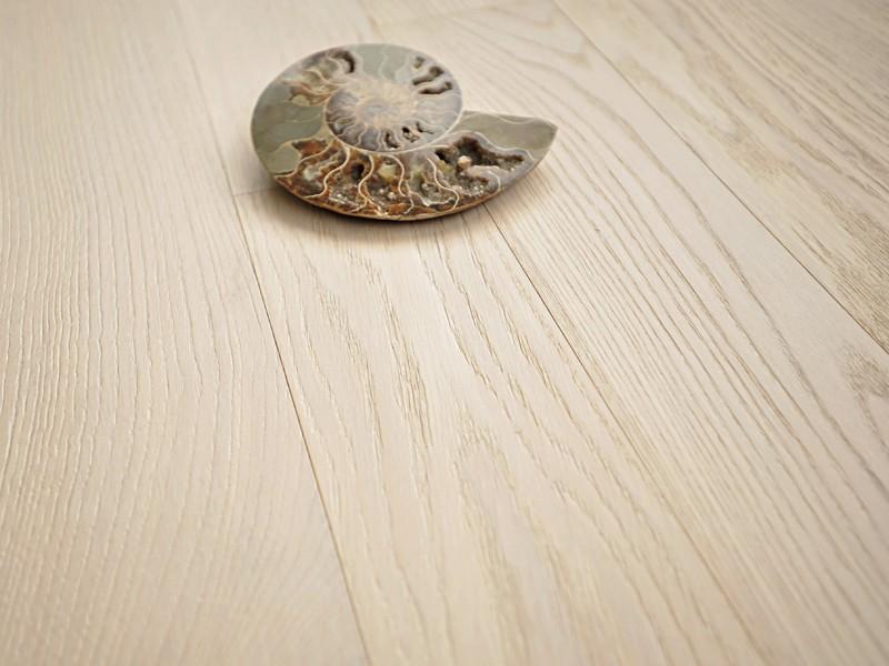 Паркетная Доска Coswick 1131-1258 Брашированная дуб белый иней (white frost)