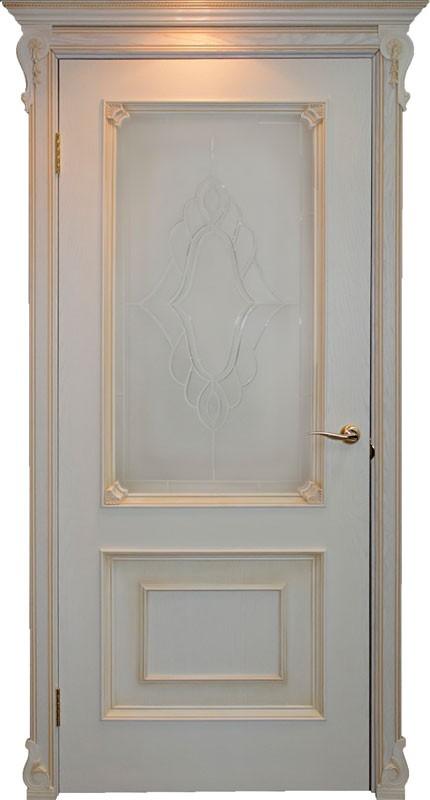 Дверь Атланта со стеклом