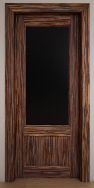 Двери Стародуб Модель 21по эбеновое дерево