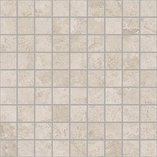 Керамическая Плитка Italon Белый вставка мозаика