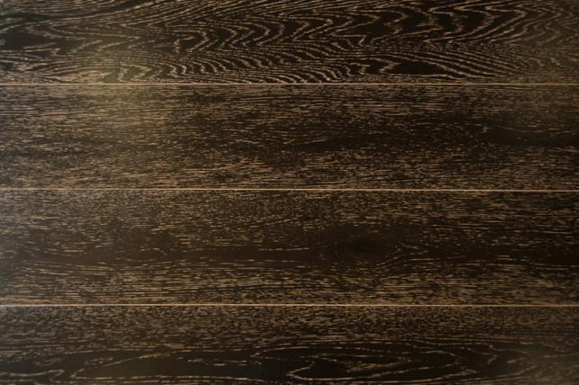 Массивная Доска Amber Wood Дуб мокко браш 120