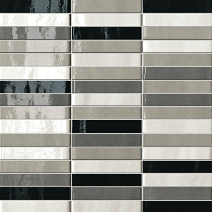 Керамическая Плитка Fap Ceramiche Tratti grigi mosaico