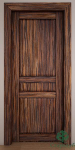 Двери Стародуб Модель 27пг эбеновое дерево