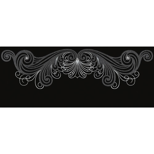 Керамическая Плитка Emil Ceramica Fascia fashion skull black