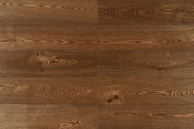 Массивная Доска Amber Wood Ясень винтаж браш масло 120