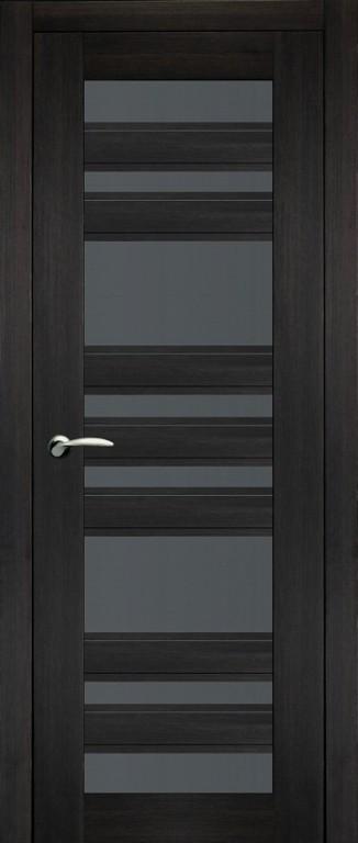 Дверь 32 темный венге