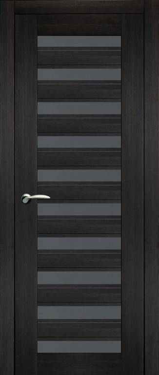 Дверь 30 темный венге