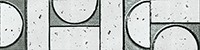 Керамическая Плитка Fap Ceramiche Sigillo argento listello mosaico