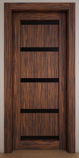 Двери Стародуб Модель 12 эбеновое дерево