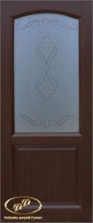 Дверь София венге витраж