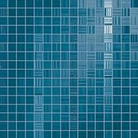 Керамическая Плитка Fap Ceramiche Blu mosaico