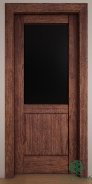 Двери Стародуб Модель 26по орех американский патина