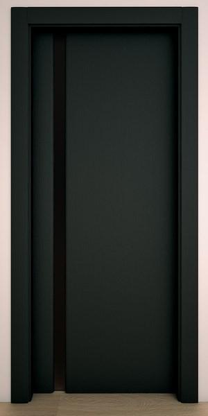 Двери Стародуб Модель 1по черное дерево