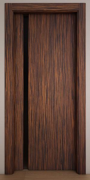 Двери Стародуб Модель 1по эбеновое дерево