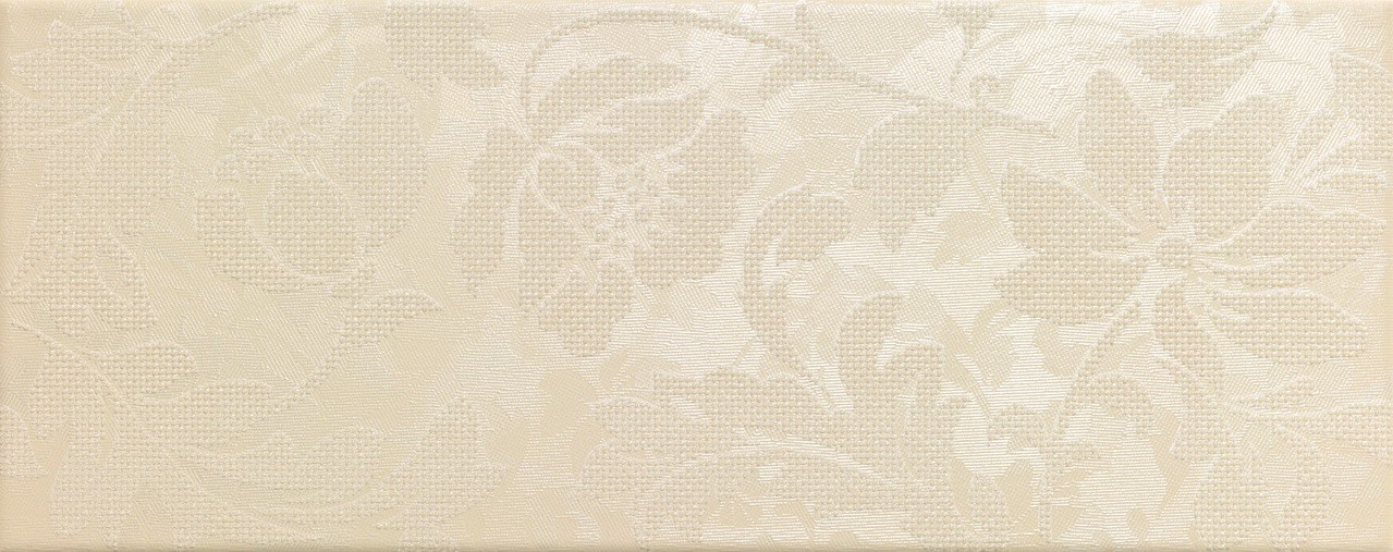 Керамическая Плитка Italon Тач беж вставка флауэр
