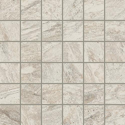 Керамическая Плитка Italon Белый вставка моз