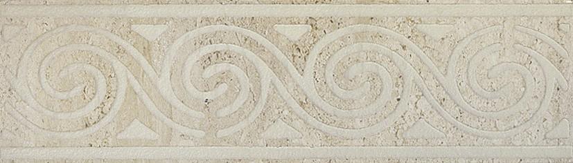 Керамическая Плитка Capri Fascia travertino beige 8.5x30