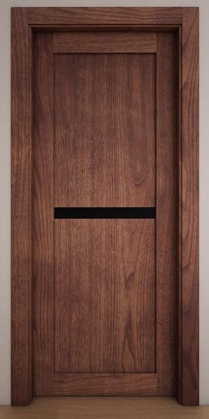 Двери Стародуб Модель 7 орех американский патина