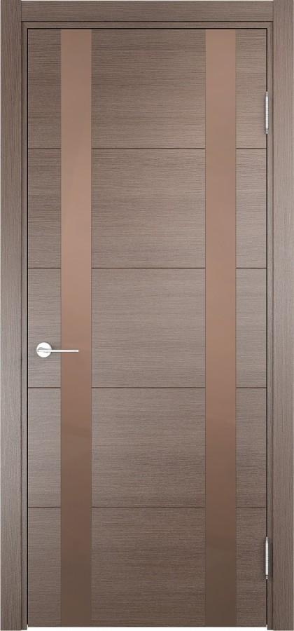 Дверь Дуб бежевый вералинга со ст.белое