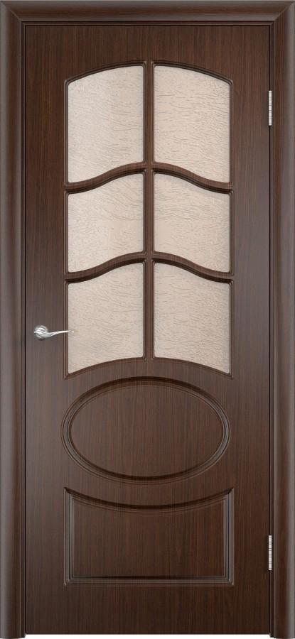 Дверь Неаполь венге (пвх) до