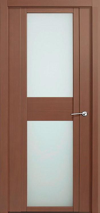 Дверь H - ii дуб палисандр стекло белое