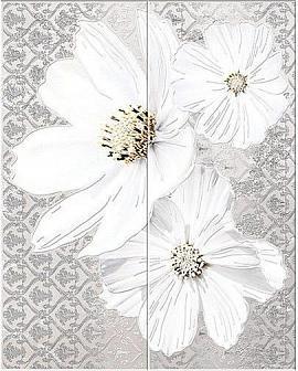 Керамическая Плитка Azori Grey floret 40.2x50.5