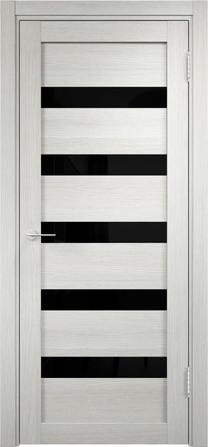 Дверь verda мюнхен 03 лакобель черное слоновая кость