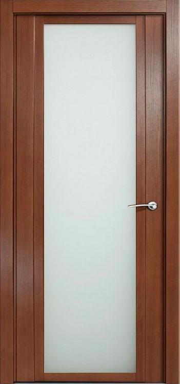 Дверь H - iv дуб палисандр стекло белое