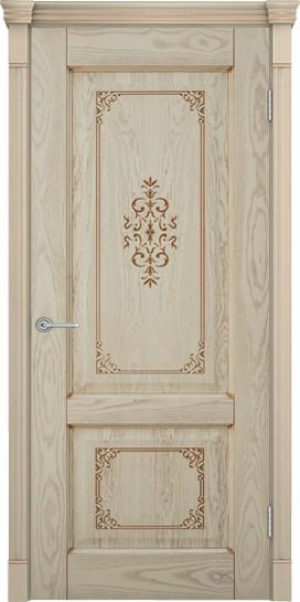 Дверь Шервуд 3 снежный дуб глухое